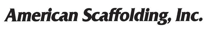 American scaffolding logo